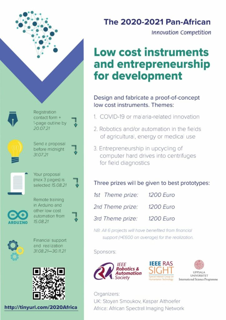 Pan-African Competition – in Low cost instruments and entrepreneurship for development
